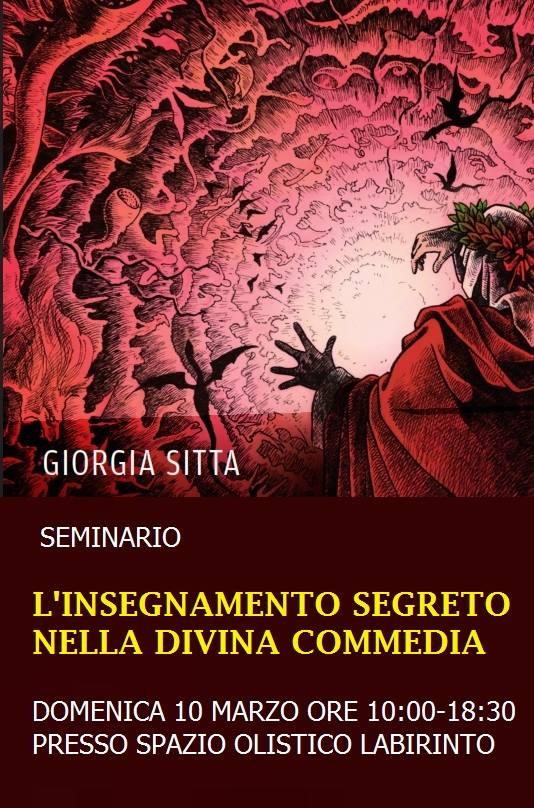 """Perugia: """"L'insegnamento segreto nella Divina Commedia"""""""